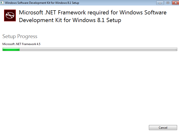 Installation of NET framework